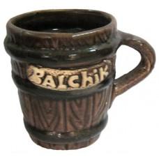 01184 Керамична чаша за ракия с надпис Балчик 7 см