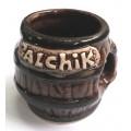 01187 Керамична чаша за ракия с надпис Балчик 5 см