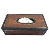 07147 Дървена кутия 23 на 11 на 7 см. Може да се ползва за салфетки, чай, като бижутерка