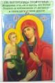 03104.1 Икона за стена св. Богородица Троеручица 13/10 см