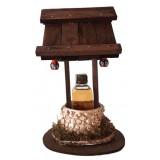 01060 Кладенец с 50 мл ракия и декоративни чашки 23 см