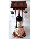 01062 Кладенец с вино и 2 чаши 45/25 см