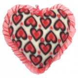 01102.1 Червено плюшено сърце 25 см