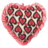 01103.1 Червено плюшено сърце 25 см