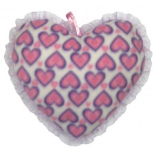 01103.2 Розово плюшено сърце 28 см
