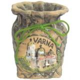01200 Моливник с изглед и надпис от Варна 9 см