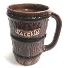 01359 Керамична чаша с надпис Балчик 12 см