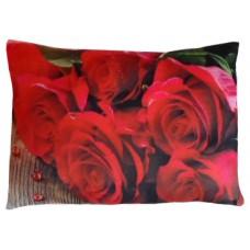 02010.6 Плюшена възглавница с рози 35 см