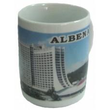 02055.4 Керамична чаша с изглед от Албена 9 см