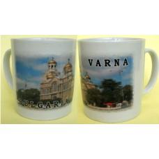 02055.8 Керамична чаша с изглед от Варна 9 см