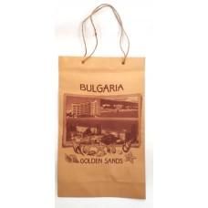 02114 Хартиена торба Златни пясъци 24 на 40 см