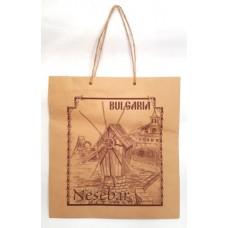 02118 Хартиена торба Несебър 24 на 25 см