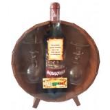 02201 Бъклица с вино 750 мл и 2 чаши 35 см