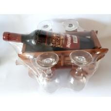 02209 Каруца с вино 750 мл и 4 чаши 20/30 см