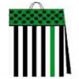 03116.1 Подаръчни торби в пакет по 10 различни цвята 38 на 38 на 10 см