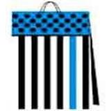 03112.1 Подаръчни торби в пакет по 10 различни цвята 25 на 24 на 8 см