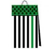 03115.1 Подаръчни торби в пакет по 10 различни цвята 19 на 12 на 5 см