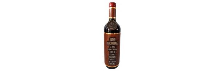 03191.13 Декорирана бутилка с вино 750 мл Честито Пенсиониране
