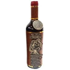 03191.10 Декорирана бутилка вино 750 мл Честита годишнина