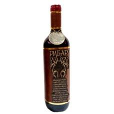 03191.4 Декорирана бутилка вино 750 мл Рибар