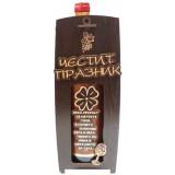 03202 Кутия с бутилка декорирано вино 750 мл