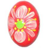 03210 Дървено яйце оранжево 6 см