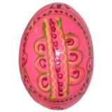 03210 Дървено яйце розово 6 см