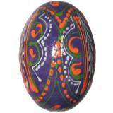 03210 Дървено яйце шарено 6 см