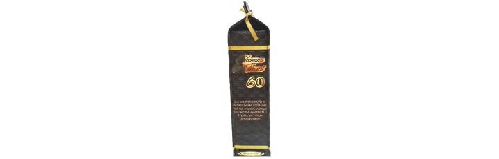 03226.6 Кожена бутилиера Честит Юбилей 60г. 750 мл