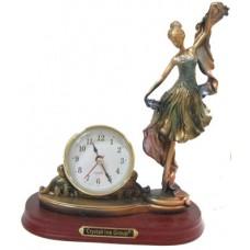 04009 Статуетка - часовник с балерина  25 см