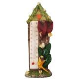 05006.1 Термометър къща с птички 15 см