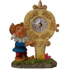 05023  Часовник с гномче 12 см