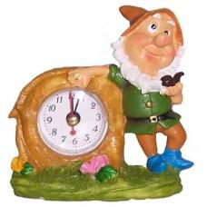 05025 Часовник с гномче 9 см