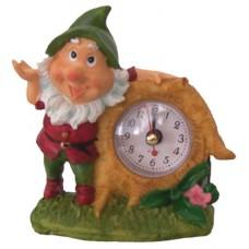 05025 Часовник с гномче9 см