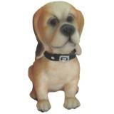 05044.4 Декоративно куче  от полирезин 12 см