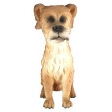 05049.4 Декоративна фигура на куче 15 см