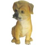 05049.5 Декоративна фигура на куче 15 см