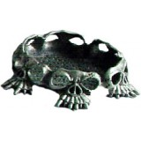 06028 C Метална фигура с черепи 6 см