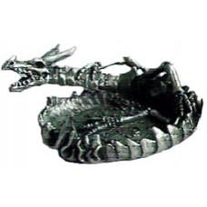 06028 D Метална фигура с глава на дракон 6 см