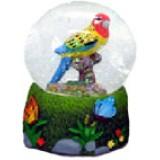06066 Преспапие папагал 6 см