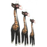 07022 Комплект жирафи 15, 20, 25 см