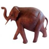 07178 Слон дървен 20 см