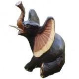 07187 Слон дървен 25 см