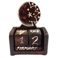 07353 Календар  със звезда 10 см