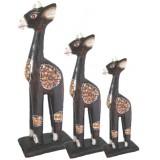 07307 Комплект жирафи 20, 30, 40 см
