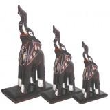 07097 Комплект слонове 15, 20, 25 см