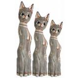 07332 К-кт котки 3 бр 30/40/50 см