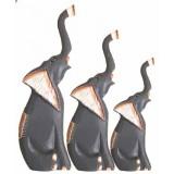 07101 К-кт слонове 3 бр 20/25/30 см
