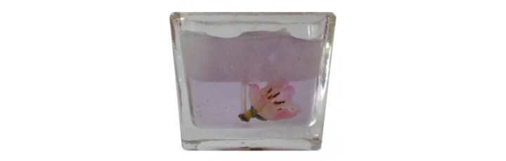14004.1 Свещ в стъкло 6 см