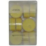 14014.1 Чаени свещи лимон 12 бр
